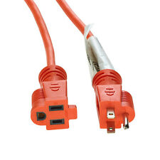 6Ft 16AWG Heavy Duty 3-Prong Indoor Outdoor AC Power Extension Cord - UL,CUL,FT2