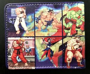 Street Fighter Wallet Purse ID Mens Kids Ryu Ken SNES Gaming CAPCOM Arcade AUS