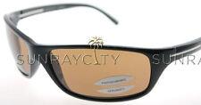 Serengeti Pisa Shiny Black Polarized Drivers Sunglasses 6823