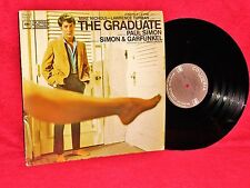 Ost Lp The Graduate Simon & Garfunkel Dave Grusin 1968 Columbia Master Vg+ / Nm