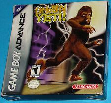 Urban Yeti! - Game Boy Advance GBA Nintendo - USA