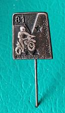 MOTOCROSS - MOTORCYCLE 1981 Jastrebarsko - AMD AMATER -   pin badge