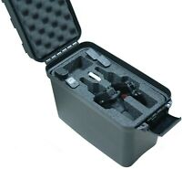 Case Club Universal 2 Pistol Top Loader Case with Silica Gel