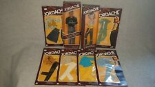 More details for vintage mego corp jordache fashion dolls x 2 + outfits x 6 1981 nrfb