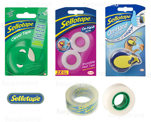Sellotape Clever On-Hand Dispensers Refills Packaged & Loose Tape #BargainTrend