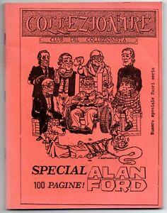 COLLEZIONARE special ALAN FORD club del collezionista fanzine 1988 index dossier