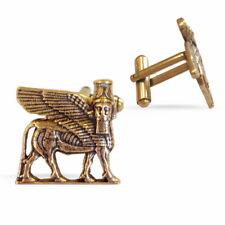 Cufflinks, ~ Museum Store Collection Assyrian Neoclassical Lamassu Winged Bull