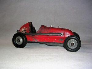 Vintage Roy Cox Thimble Drome Special Gas Powered Race Car Tether Car