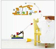 Removable Angry birds Wall Sticker Art children baby Kids Nursery home decor
