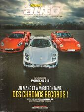 SPORT AUTO 635 ARIEL ATOM V8 PORSCHE 918 SPYDER CARRERA GT 959 SUBARU WRX STI
