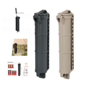 Outdoor Sports Battery Storage Hanging Belt Box Holders Tool Black / Tan