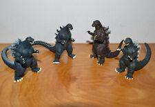 "GODZILLA GASHAPON Lot Mini Figures Bandai 3"" Tall Monster Kaiju"