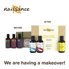 Naissance Massage Oil Favourites Gift Set Inc. Relaxing, Sensual, Aches & Pains