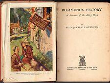 Vintage ELSIE J.OXENHAM: ROSAMUND'S VICTORY (HC 1st Ed; 1934) Abbey Girls Series