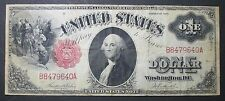 1917 $1 Dollar Large Size Legal Tender Note XF Extra Fine Popular Series FR-36