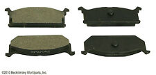 BECK/ARNLEY 087-1272 Silver Supreme Semi Metallic Disc Brake Pads Front