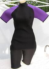 IST  Shorty Dive Suit Lady 3mm M/L Black Purple Neoprene II