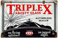 Nostalgic Advertisement Triplex Safety Glass