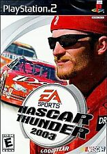 NASCAR Thunder 2003 (Sony PlayStation 2, 2002) #1 SELLING NASCAR FRANCHISE
