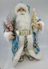 December Diamonds Nautical Coastal Santa Claus Christmas Decor Figure Christmas