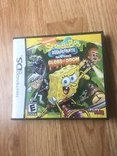 Sponge Bob Square Pants Globs Of Doom Nintendo DS NDS Cib Game XP2