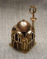 Vintage 14K Gold Souvenir Charm - Hagia Sophia ? Church Mosque Istanbul Turkey