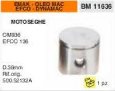 500.52132A PISTONE MOTOSEGA EMAK EFCO 135 DYNAMAC OLEO MAC 936 Ø 38mm