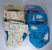 Baby Sweet Bottom Pocket Diapers Lot of 6 Size Large Reusable