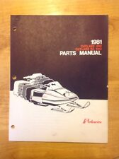 Polaris Snowmobile Parts Book Manual 1981 Cutlass 340 SS440