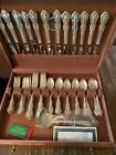 JOAN OF ARC STERLING SILVER FLATWARE SET WITH 81 Pieces