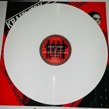 KRAFTWERK, THE MAN MACHINE, WHITE COLORED VINYL LP, 2018 EU IMPORT