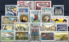 """1996 """"Austria"""" Complete Year set with Souvenirsheet VF/MNH! CAT 63, pay only 20%"""