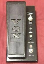 Usado VOX Js-Wah Grande Malo Wah Joe Satriani Pedal de Efectos Guitarra Japón