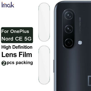 2pcs IMAK Clear Camera Lens Tempered Glass Film For OnePlus Nord CE / N200 5G