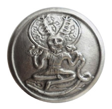 Cernunnos The Horned God Celtic Pewter Brooch Pin Badge