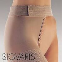 Sigvaris 504 Natural Rubber 40-50 Open Toe Unisex Waist