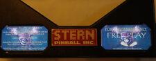 Pirates Of The Caribbean Pinball Machine Glowing Instruction Card Kit EL Panel