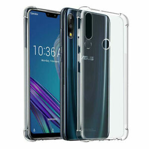 Shockproof Soft Transparent Crystal TPU Silicone Case Cover For Asus Zenfone