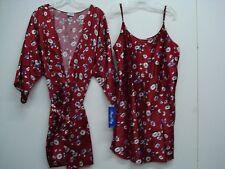 2b1b0bc217 USA Made Nancy King Lingerie Chemise   Jacket Gown Robe Size 2X Multi  549Q