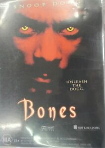 Bones - Snoop Dogg (DVD, 2003) Region 4 Rare Prono DVD Full Movie.
