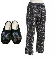 Vera Bradley NIGHT SKY Flannel PAJAMA PANTS or SLIPPERS - U Choose (New&Sealed)