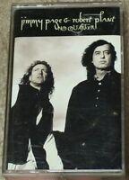 Jimmy Page & Robert Plant No Quarter: Unledded Cassette Tape Led Zeppelin duo
