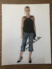 Sarah Michelle Gellar Signed Autograph Photo 8x10 Coa Buffy