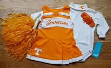 CHEERLEADER COSTUME OUTFIT HALLOWEEN TENNESSEE VOLUNTEERS 12 MTHS BOW POM POMS
