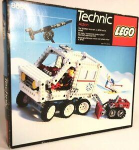 Lego Technic Vintage Artic Rescue Unit 8660 (1986) Pre-Owned