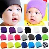 Unisex Cotton Beanie Hat For New Born Kid Baby Boy/Girl Soft Toddler Cap