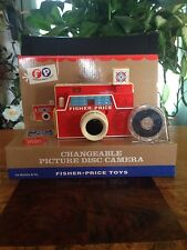 Fisher Price Classic Toys: Changeable Picture Disc Camera - NEW Christmas Retro