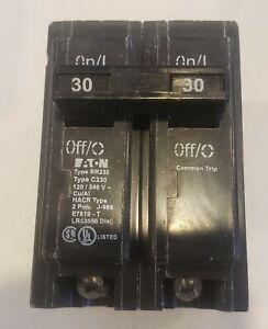 New Circuit Breaker Eaton Cutler-Hammer BR230 30 Amp 2 Pole 120/240V