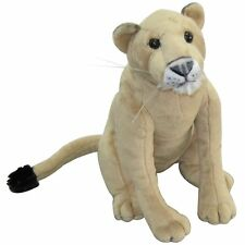 "NIC NAC 12"" BABY NURSERY JUNGLE SAFARI ZOO WILD STUFFED ANIMAL LIONESS TOY!"