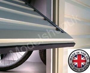 Garage Door LEAF-STOPPER Self-adhesive Draught Excluder Dirt Grabber Tape Strip